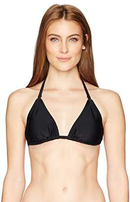 Smart & Sexy Smart+Sexy Women's Triangle Bikini Top