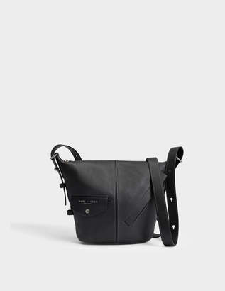 Marc Jacobs The Mini Sling Bag in Black Cow Leather