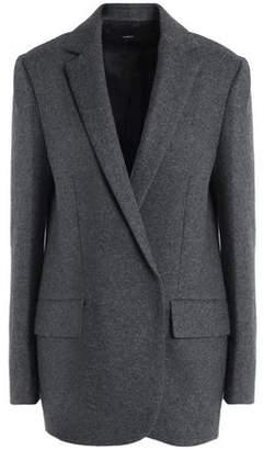 Theory Brushed Wool-Blend Blazer