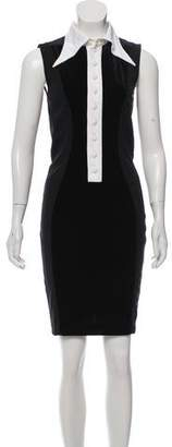 Givenchy Sleeveless Knee-Length Dress