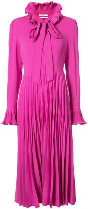 Co full length pleated dress