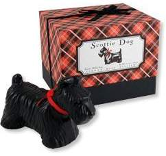 Scottie Dog Soap in Gift Box by Gianna Rose (5.5oz Bar)