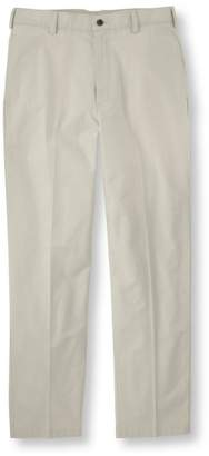 L.L. Bean L.L.Bean Tropic-Weight Chino Pants, Natural Fit Plain Front