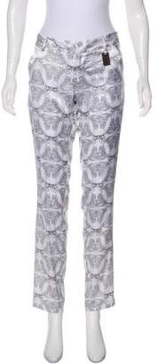 Thomas Wylde Mid-Rise Silk Pants w/ Tags