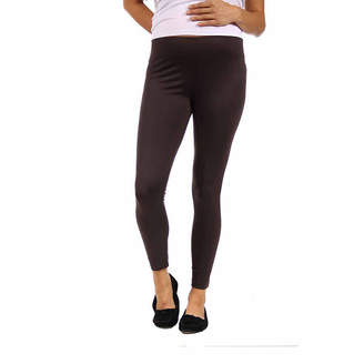 24/7 Comfort Apparel Womens Over Belly Legging-Plus Maternity