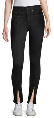 Rag & Bone Yuki Split-Cuff Skinny Jeans