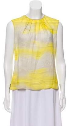 Giambattista Valli Printed Silk Top