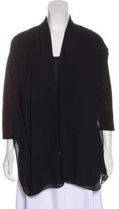 DKNY Scoop Neck Long Sleeve Top