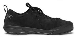 Arc'teryx Acrux SL Suede Hiking Sneakers - Black