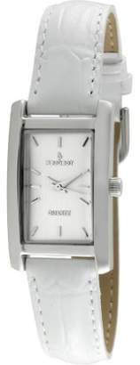 Peugeot Women's Quartz Metal and Leather Dress Watch