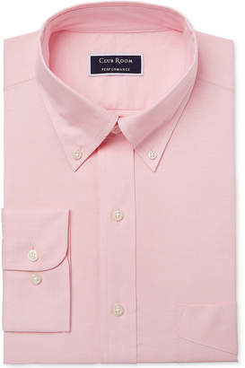 Club Room Men's Slim Fit Performance Easy-Care Oxford Solid Dress Shirt