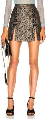 ALEXACHUNG Sailor Lace Up Skirt
