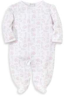 Kissy Kissy Baby's Jungle Out There Printed Cotton Footie