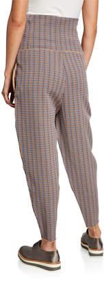 Stella McCartney High-Waist Stretch-Wool Pants