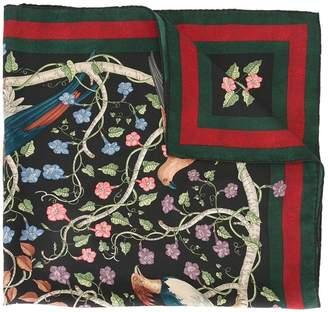 Gucci Rapaci print scarf