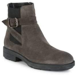 Aquatalia Lucy Pebbled Round Toe Boots