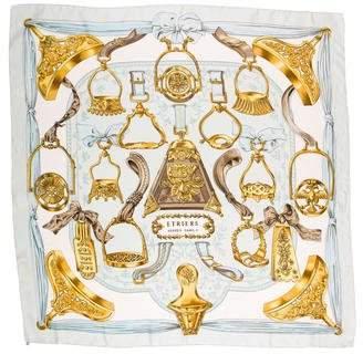 Hermes Etriers 70cm Silk Scarf