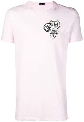 DSQUARED2 badge embroidered T-shirt