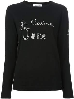 Bella Freud Je t'aime Jane スウェットシャツ