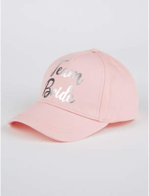 George Pink Team Bride Cap