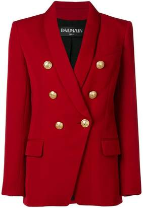 Balmain classic double-breasted blazer