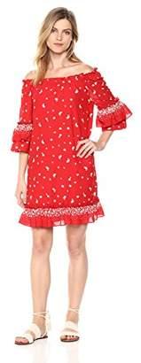 Ella Moon Women's Standard Short Sleeve Dress