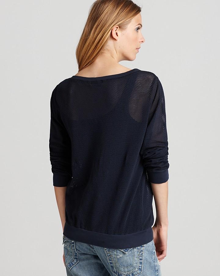 Michael Stars Sweatshirt - Mesh