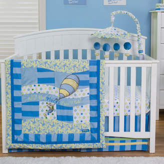 Trend Lab Dr. Seuss Oh, The Places You'll Go! 3 Piece Crib Bedding Set
