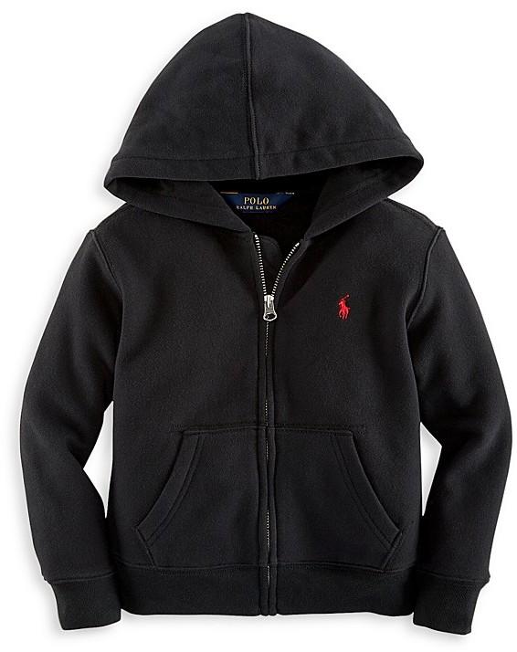Ralph Lauren Childrenswear Boys' Fleece Zip Up Hoodie - Sizes S-XL