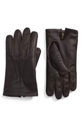 Hickey Freeman Deerskin Leather Gloves
