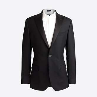 J.Crew Factory Peak-lapel tuxedo jacket in wool