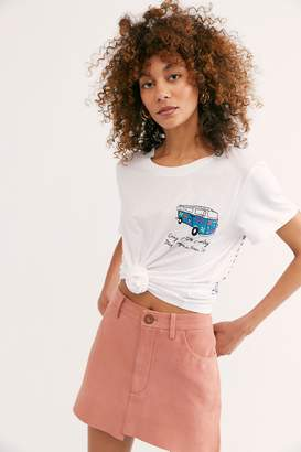 92c4846a5 Banner Day Embroidered Woodstock Bound Tee