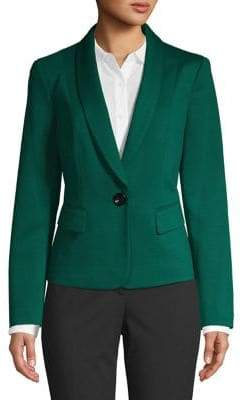 Nipon Boutique Tapered Button Front Jacket