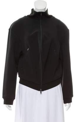 Balenciaga Mock Neck Bomber Jacket
