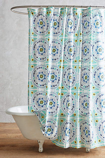 Anthropologie Anthropologie Tegula Shower Curtain