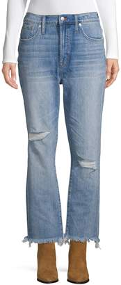 Madewell Frayed Cropped Jeans