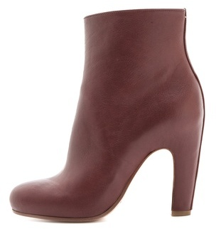 Maison Martin Margiela Curved Heel Ankle Booties