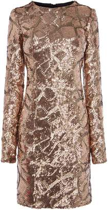 Karen Millen Sequin Mini Bodycon Dress