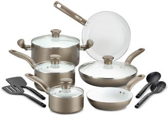 T-Fal Initiatives 14-Pc. Cookware Set