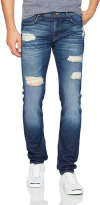 7 For All Mankind Men's Paxtyn Skinny Fit Tapered Jean in Salwater Destroyed
