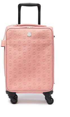MCM Ottomar Monogrammed Leather Trolley