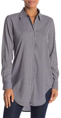 Philosophy Apparel Stripe Hi-Lo Tunic