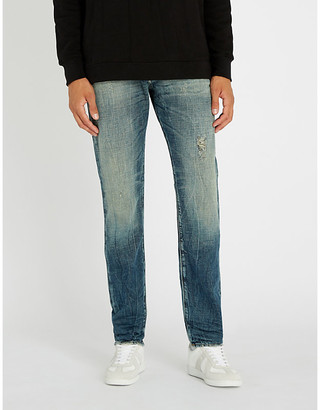 48bcb460 Diesel Buster regular-fit tapered jeans