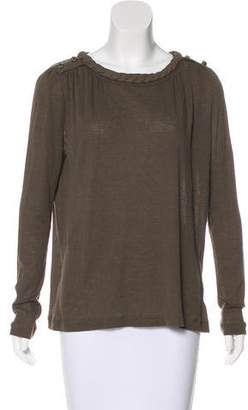 Chloé Knit Long Sleeve Top