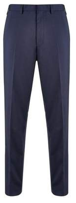 Mens Big & Tall Navy Essential Stretch Tailored Fit Suit Trousers