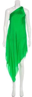 Ralph Lauren Purple Label Asymmetrical Maxi Dress