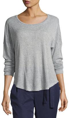 Bobeau High-Low Knit T-Shirt $35 thestylecure.com