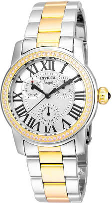 Invicta Womens Two Tone Bracelet Watch-21707