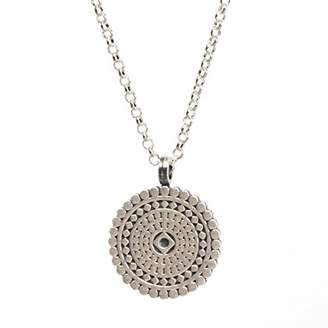 Dogeared Women Silver Necklace of Length 45.72cm VS0706-IN