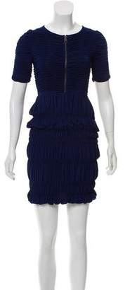 Burberry Ruched Bodycon Dress